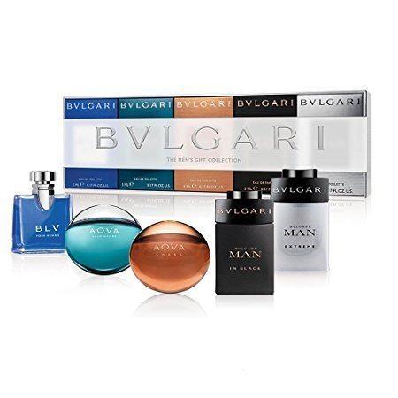 Bvlgari The Men's Gift Collection - 5 Piece Mini Gift Set