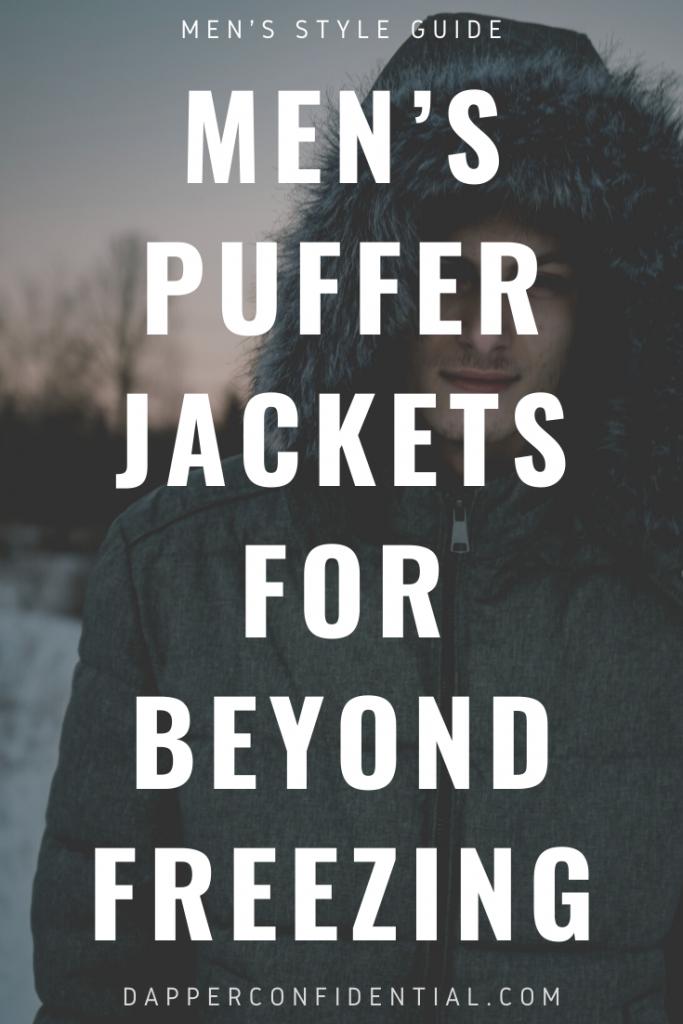 mens puffer jackets