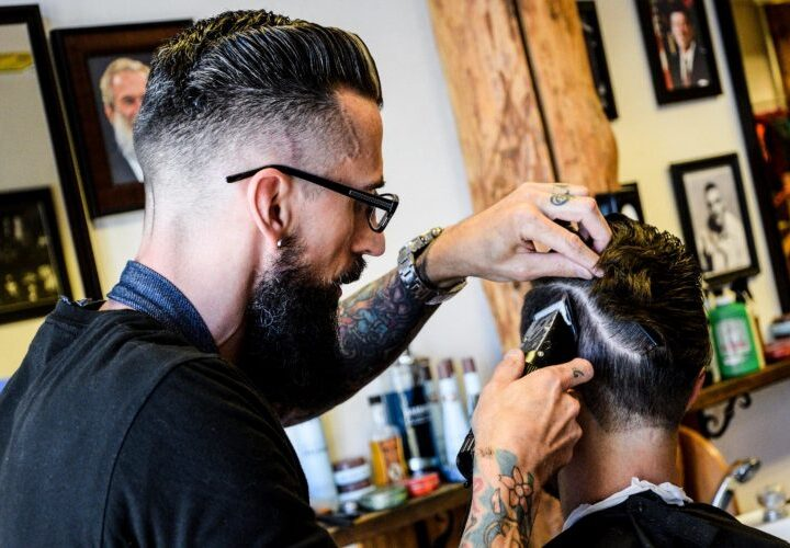 Barbershop with Frank Barry