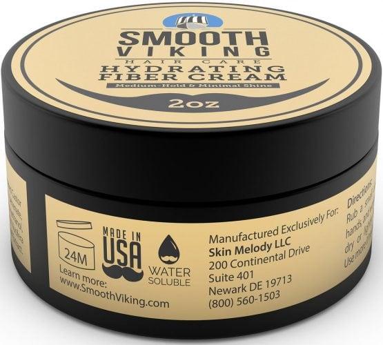 Smooth Viking hydrating fiber hair cream