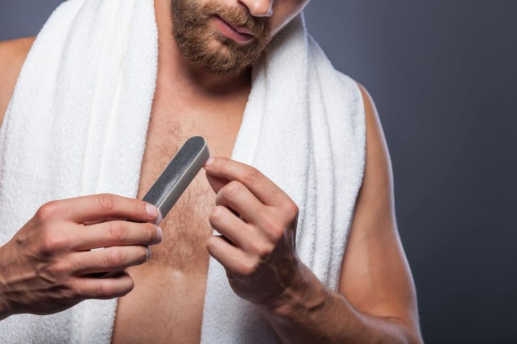 5 minute manicure for men