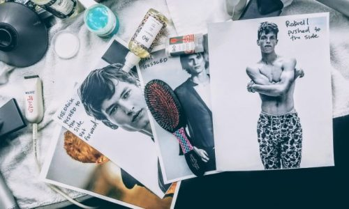 Backstage at Todd Snyder Fall Winter 2018 with R+Co