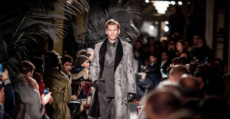 Backstage at Joseph Abboud Fall Winter 2018 with R+Co