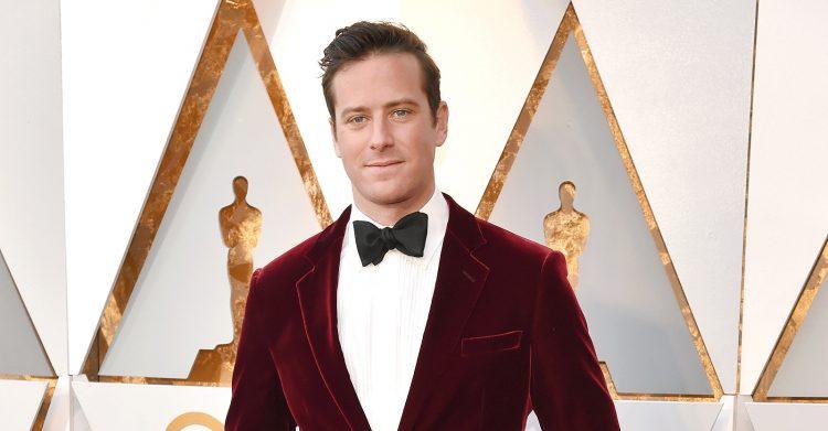 Oscar Nominee Armie Hammer
