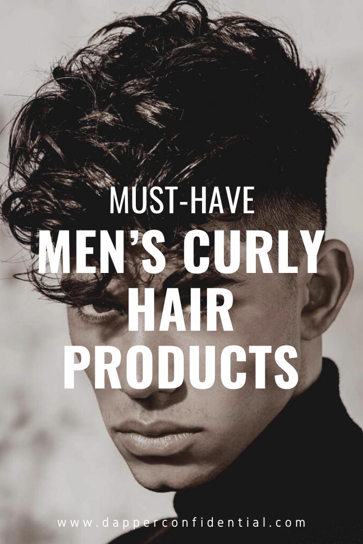 Pinterest pin men's culry hair
