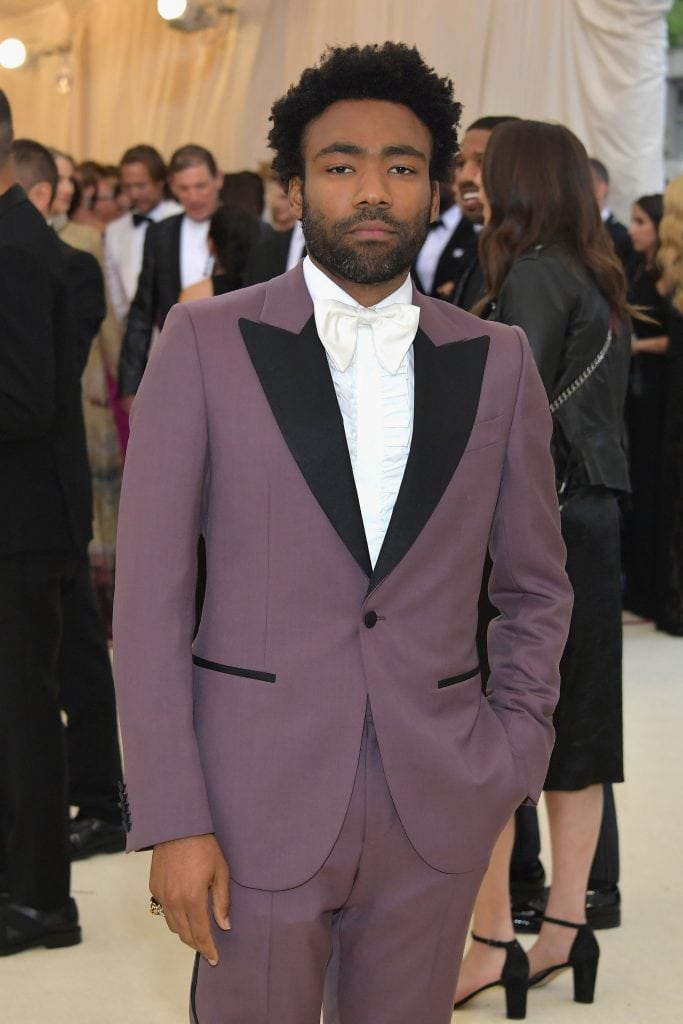 Met Gala Grooming with Donald Glover