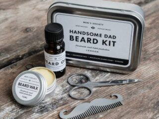 Men's Society Handsome Dad Beard Kit Review