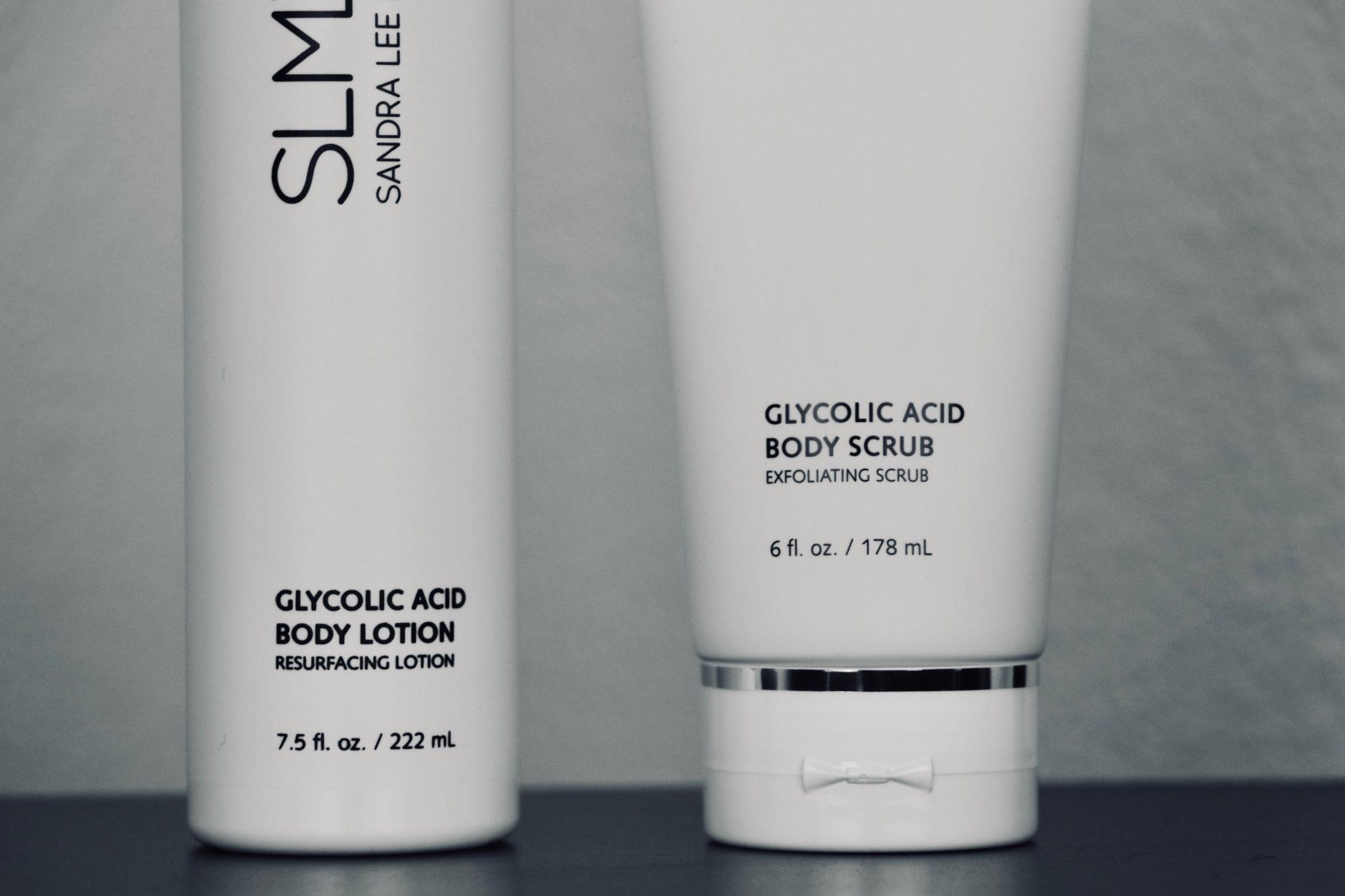 SMLD Glycolic Acid Body Scrub packaging