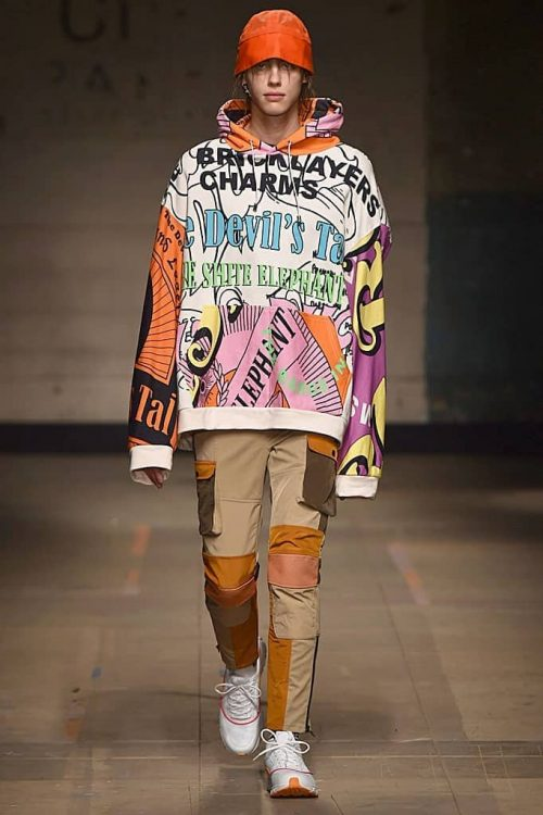 Topman Rave outfit for men in the runway