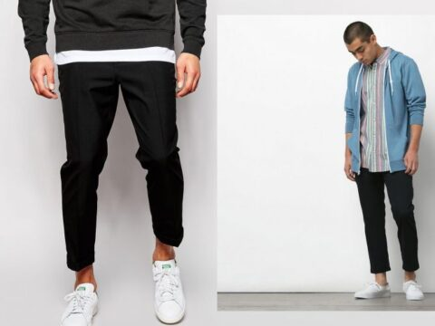 How to Wear Cropped Pants for Men