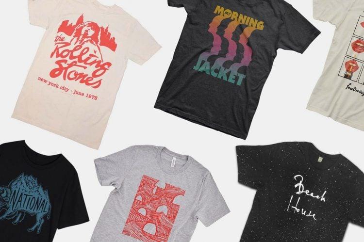 Best Rock Band T-Shirts