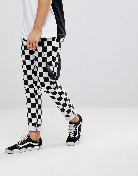 How to Wear Checkerboard Prints