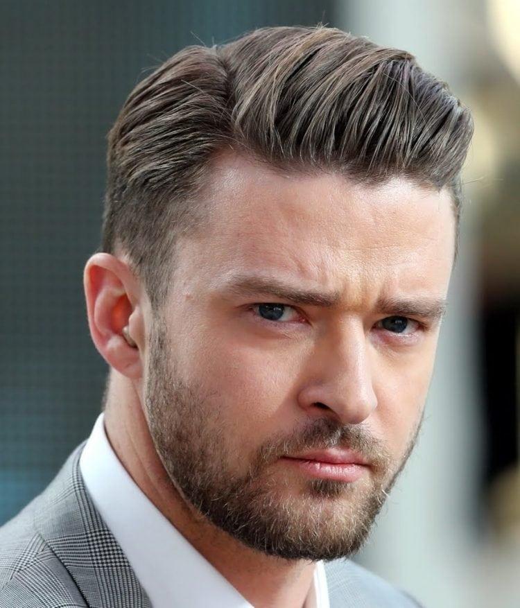 Justin Timberlake with a dapper haircut
