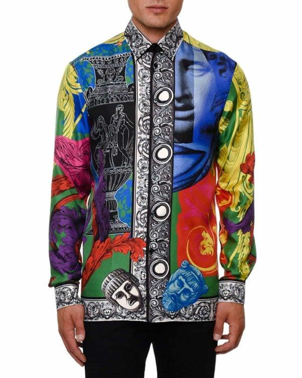 Silk Shirt from Versace