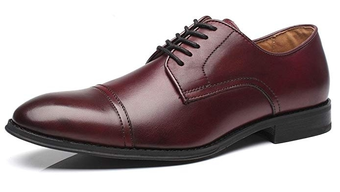 Burgundy Brown Shoes