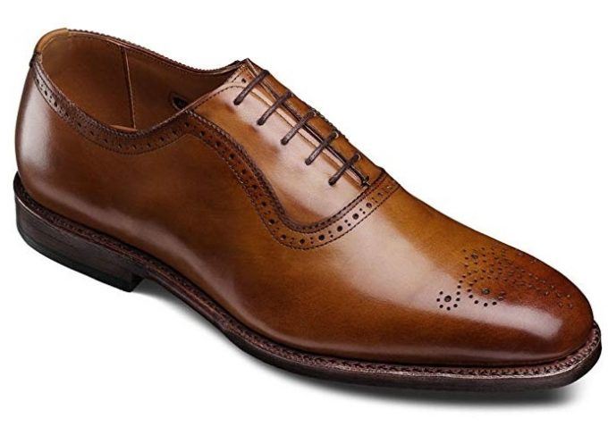 Brown Brogues Oxford shoes
