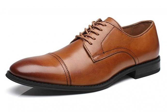 Cognac Brown shoes