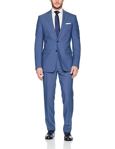 How to Wear a Blue Suit with Brown Shoes