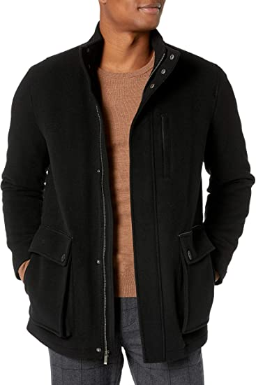 Cole Haan Wool Cashmere Carcoat
