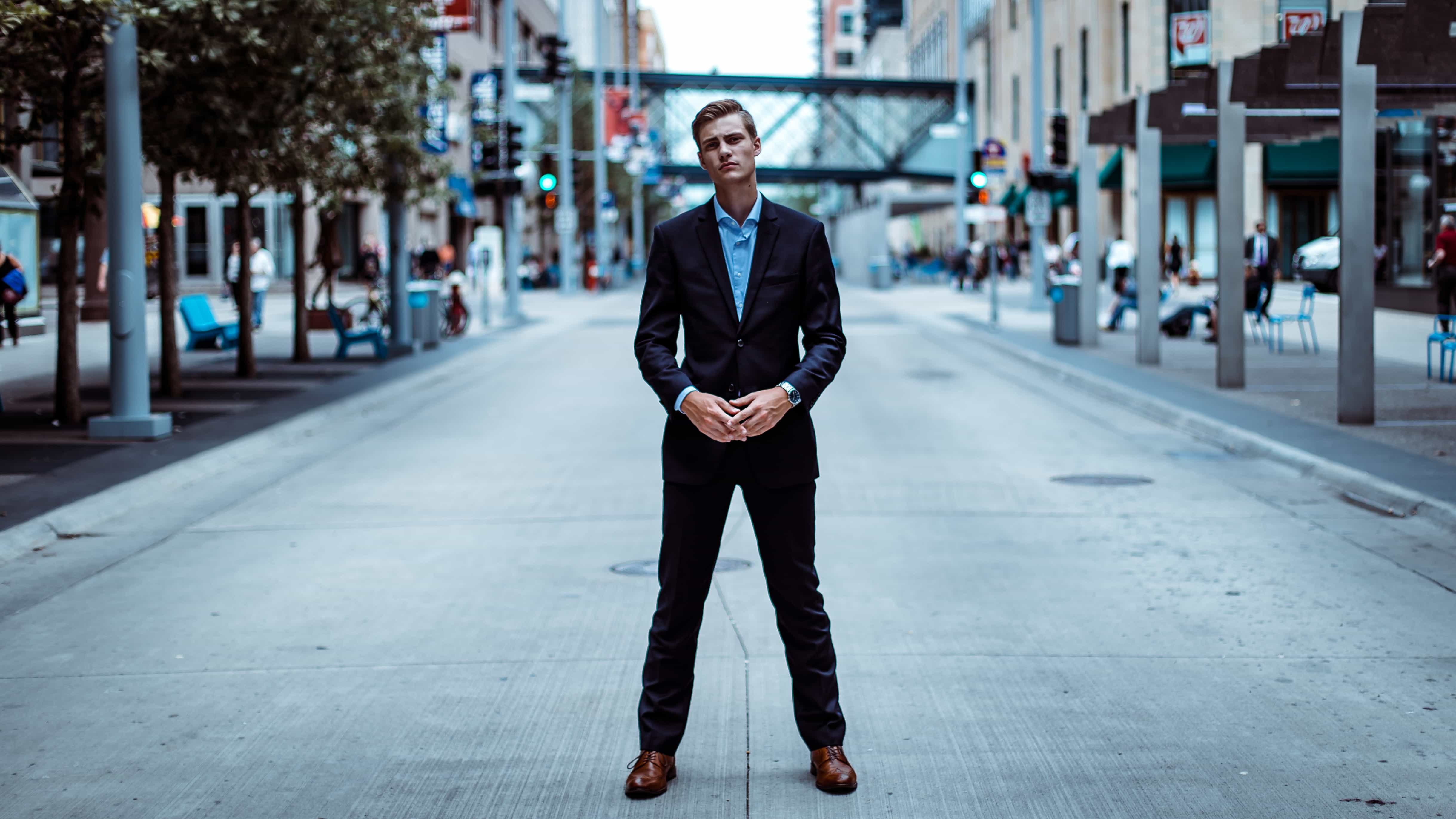 How To Wear A Blue Suit With Brown Shoes Perfect Pairing Dapper