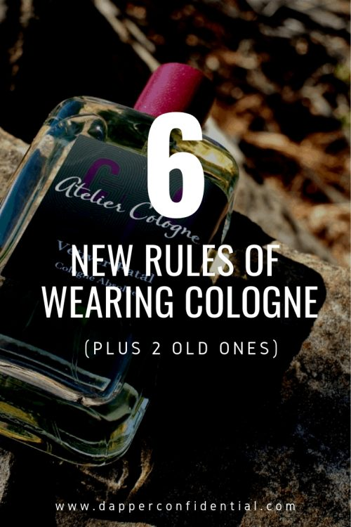 6 New Rules of Wearing Cologne