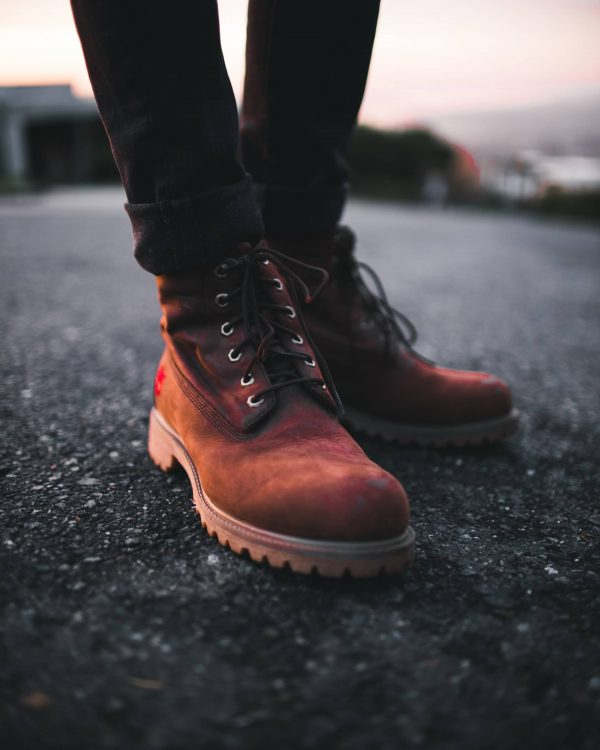 brown mountain boots