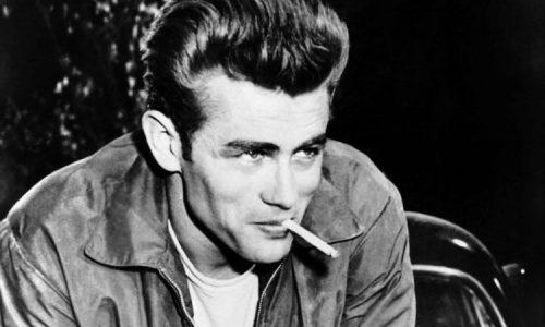 James Dean with a cigarette