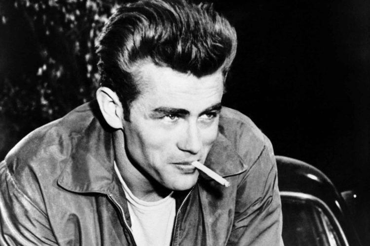 James Dean with a cigarette