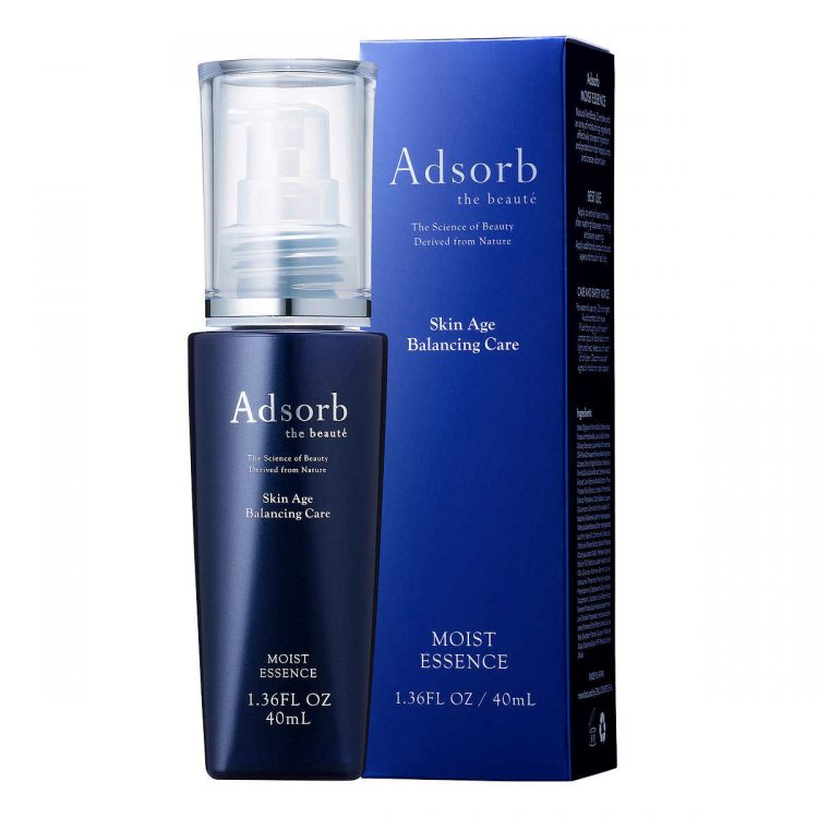 Adsorb Beauty AntiBody Moist Essence Serum box and bottle
