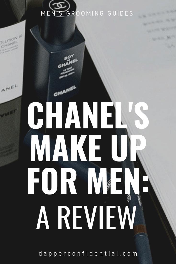 c99943ab9039 Boy de Chanel Review: I Tried Chanel's Makeup for Men   Dapper ...
