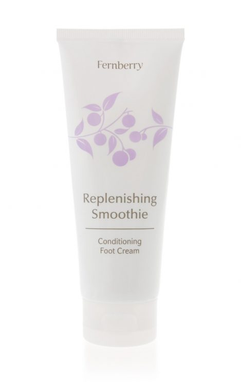 Fernberry Replenishing Smoothie Conditioning Foot Cream tube