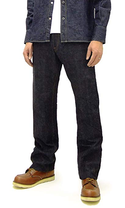 SAMURAI JEANS Straight Fit One-Washed 15 oz Japanese Denim