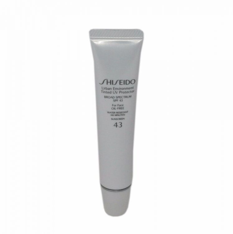 Shiseido Urban Environment Tinted UV Protector SPF 43 tube
