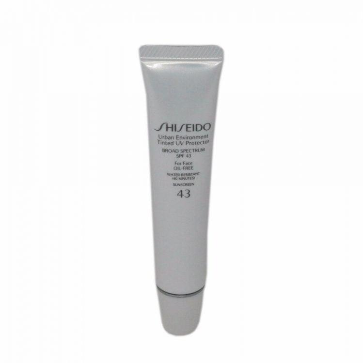 Shiseido Urban Environment Tinted UV Protector SPF 43 tube