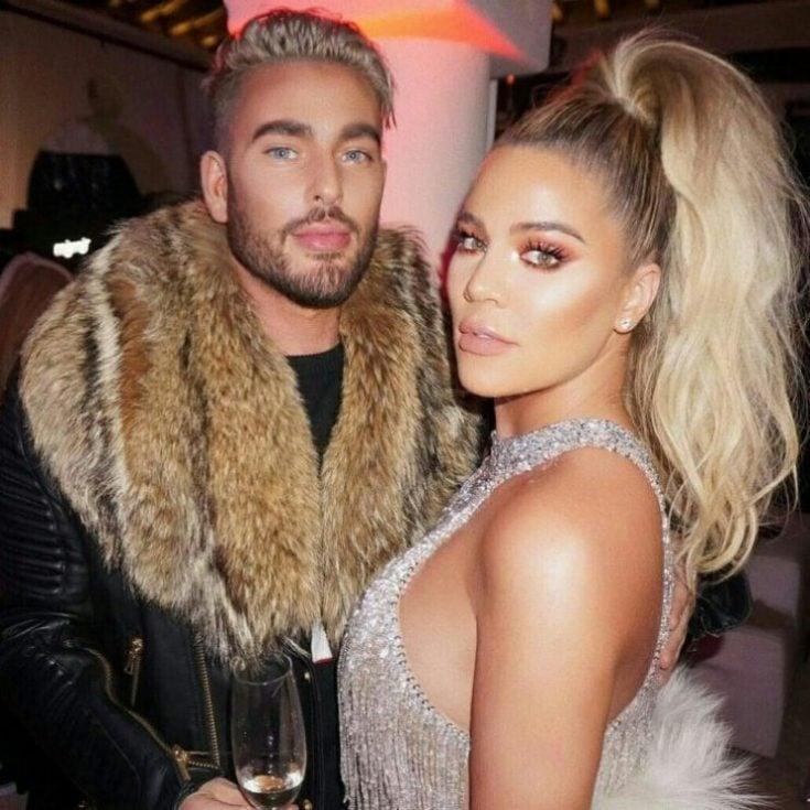 Andrew Fitzsimmons with Khloe Kardashian