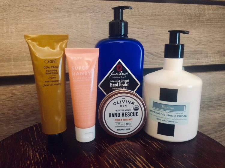 variety of Hand Creams for Men
