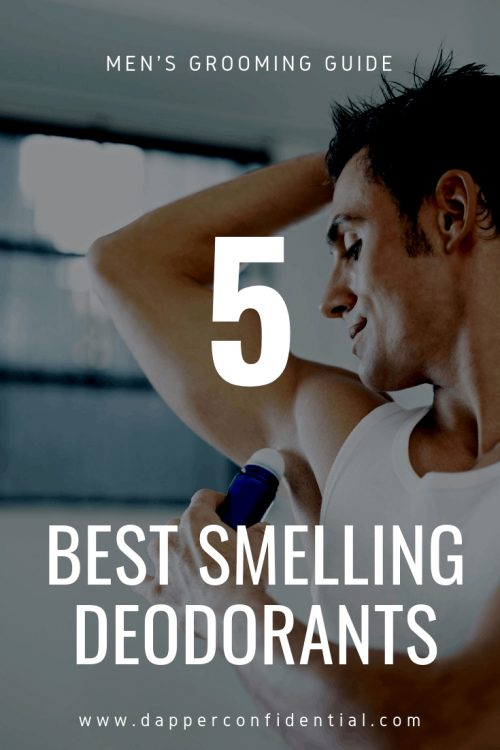 Best Smelling Men's Deodorants