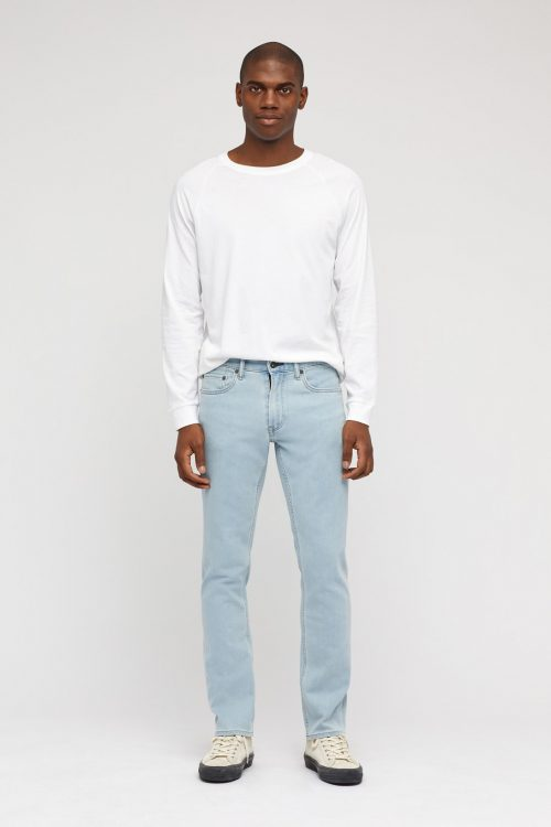 Light Wash Denim Jeans