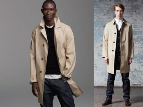 How to Wear A Raincoat Stylishly for Men