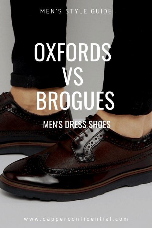 Oxfords vs Brogues