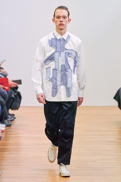 Patchwork Print Menswear