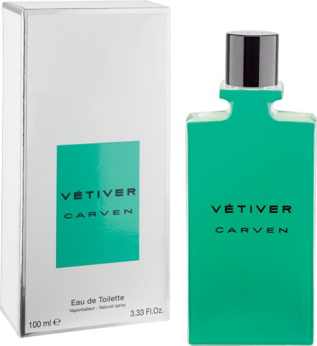 Vetiver Carven bottle and box