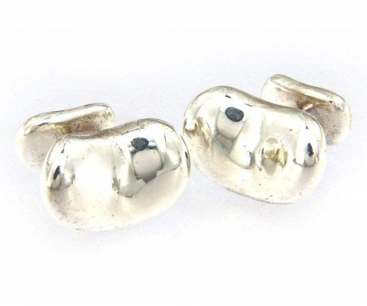Silver Tiffany & Co. cufflinks