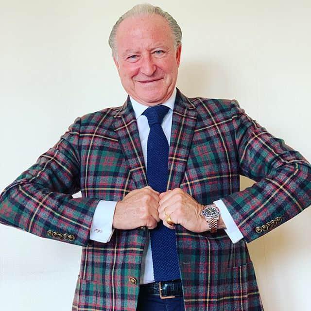 Alberto-Morillas-in-a-plaid-suit