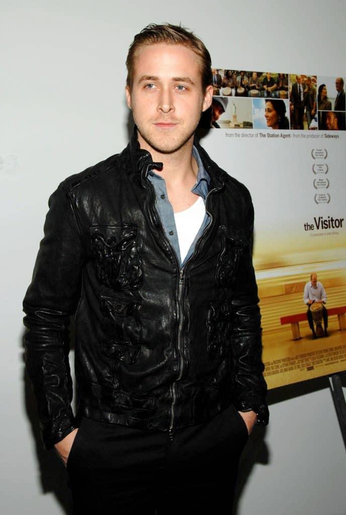 Ryan Gosling in a t-shirt under a button down.jpg