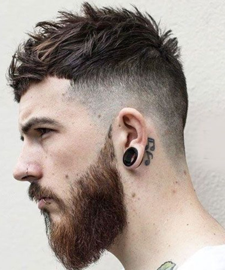 Men's Hairstyles fringe