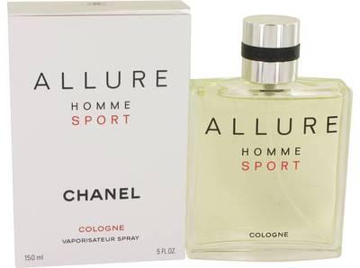 Perfume bottle named Chanel Allure Homme Sport