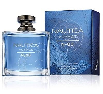 Nautica Voyage bottle & box