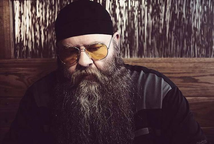 Man with long beard and a beanie