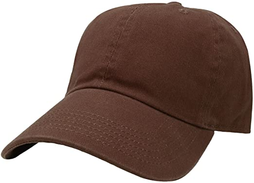 Brown dad cap
